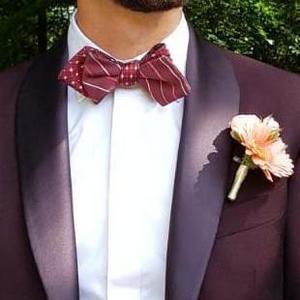 Tenue de marié par Xavier Hédoire tailleur à Strasbourg
