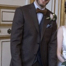 Costume pour un mariage en automne par Xavier HEDOIRE tailleur à Strasbourg