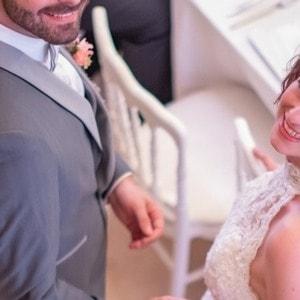 Smoking de marié gris sur mesures par un tailleur de Strasbourg